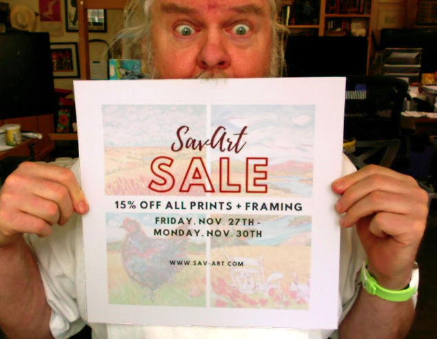 Sav-Art Sale
